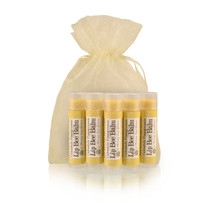 Lip Bee Balm 5 Pack- Calendula Pomegranate
