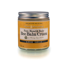 Bee Balm Cream- Almond Vanilla