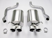 "Corsa - Sport Exhaust System w. Twin 3.5"" Pro Series Tips - C6 Corvette"