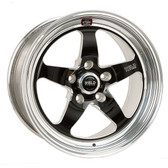 "Weld Wheels - 17""x10"" RT-S S71 Forged Aluminum Black Rear Wheel - 09-15 CTS-V Sedan/Wagon"