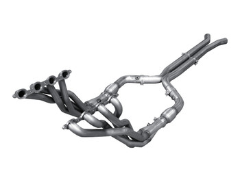 """ARH Long Tube Headers & X-Pipe w/ Catalytic Converters, 1-7/8"""" x 3"""" (2016 CTS-V) (CTSV-16178300LSWC)"""