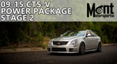 Mont Motorsports - Stage 2 Power Package 09-15 Cadillac CTS-V (LSA)
