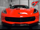 C7 Carbon C7 Corvette Z06 STYLE Front Splitter - Carbon FLASH
