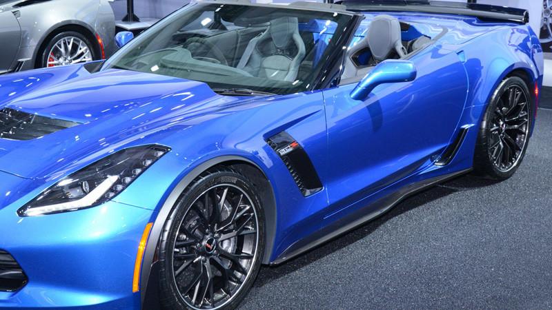 C7 Carbon C7 Corvette Z06 Side skirt set - Carbon FLASH