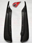 C7 Carbon 2005-2013 Rear Fender - Rear section Mudflaps for BASE C6 - Carbon Fiber