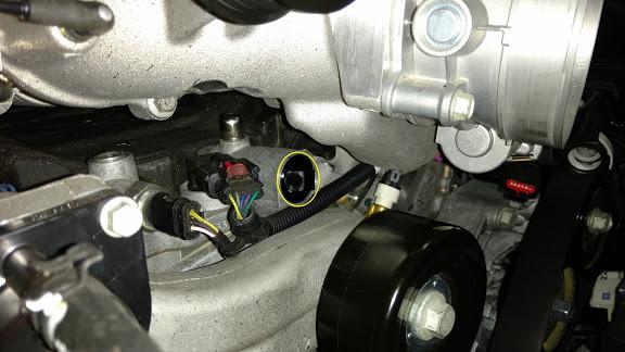 LT4 Engine PCV Adapter - C7 Corvette Z06 & Cadillac CTS-V (LT4)