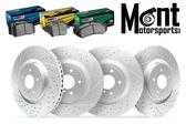 Mont Motorsports - Brake Package F/R - 09-15 CTS-V / 12-15 ZL1 Camaro