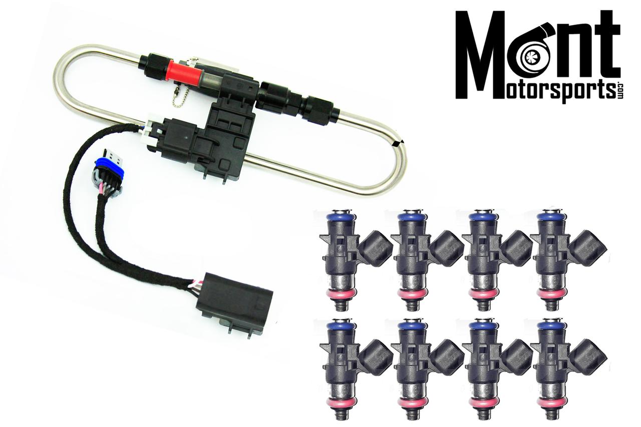 Mont Motorsports - E85 Flex Fuel Kit / 1000cc Injectors Package - 09-15  CTS-V
