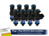 Fuel Injector Clinic 540cc Injector Set for LS3, LS7, L76, L92, and L99 engines (High-Z)