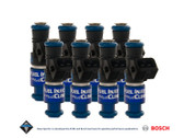 Fuel Injector Clinic 1650cc Injector Set for Dodge Hemi SRT-8 Hellcat (High-Z)