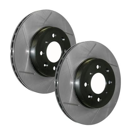 StopTech Slotted Rear Rotor Cryo Treated - Right - C6 Corvette Z06 / GS