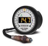 Innovate  MTX-L: MTX Powersports (3ft. sensor cable) Digital Air/Fuel Ratio Gauge Kit (ALL-IN-ONE)