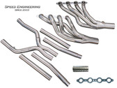 """Speed Engineering - 2"""" Long Tube  Headers w. X-Pipe - 09-15 CTS-V"""