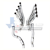 "Texas Speed 2"" Long Tube Headers w. X-Pipe - 09-15 CTS-V"