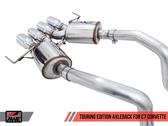 AWE Touring Edition Axleback - Chrome Tips - C7 Covette Stingray / GS / Z06 / ZR1