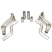 "TSP Hemi-Hellcat 2"" Long Tube Headers With High Flow Cat Connection Pipes"