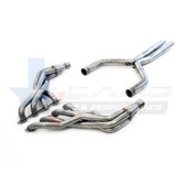 "TSP 2016+ Camaro SS 2.00"" Stainless Steel Long Tube Headers & 3"" Stainless Steel Off-Road X-Pipe"