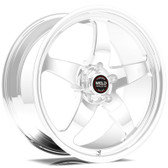 """Weld Wheels - 17x11"""" RT-S S71 Polished Rear Wheel - C6 / C7 Corvette Z06"""