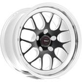 """Weld Wheels - 17x11"""" RT-S S77 Black Rear Wheel - C6 Corvette Z06"""