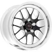 "Weld Wheels - 17x5"" RT-S S77 Black Front Wheel - C6 / C7 Corvette Z06"