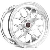 "Weld Wheels - 17x5"" RT-S S77 Polished Front Wheel - C6 / C7 Corvette Z06"