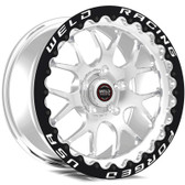 "Weld Wheels - 17x10"" RT-S S77 Polished Beadlock Rear Wheel - CTS-V / Camaro"