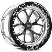 "Weld Wheels - 17x10"" RT-S S76 Black Beadlock Rear Wheel - CTS-V / Camaro"