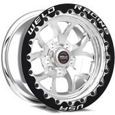 "Weld Wheels - 17x10"" RT-S S76 Polished Beadlock Rear Wheel - CTS-V / Camaro"