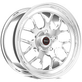 """Weld Wheels - 18x5"""" RT-S S77 Front Runner Polished - CTS-V / Camaro"""