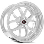 """Weld Wheels - 18x8"""" RT-S S76 Front Runner Polished - CTS-V / Camaro"""