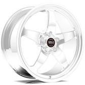 "Weld Wheels - 18x12"" RT-S S71 Polished Rear Wheel - C7 Corvette w. Carbon Brakes"