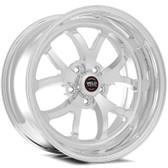 "Weld Wheels - 18x12"" RT-S S76 Polished Rear Wheel - C7 Corvette w. Carbon Brakes"