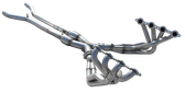 "ARH - 1 7/8"" Long Tube Headers & 3"" Off-Road X-Pipe - C6 ZR1 (LS9)"