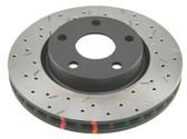 DBA T3 4000 Series Rear Rotors D/S - 09-15 CTS-V / 12-15 ZL1 Camaro