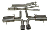 B&B - Catback Exhaust System w. X-Pipe - 09-15 CTS-V Coupe