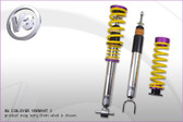 KW - V3 Coilover Kit - C6 Z06 Corvette w. Mag Ride