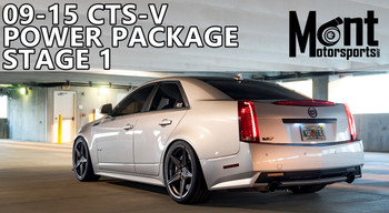 Mont Motorsports - Stage 1 Power Pacakge 09-15 Cadillac CTS-V (LSA) (MMCTSVS1)