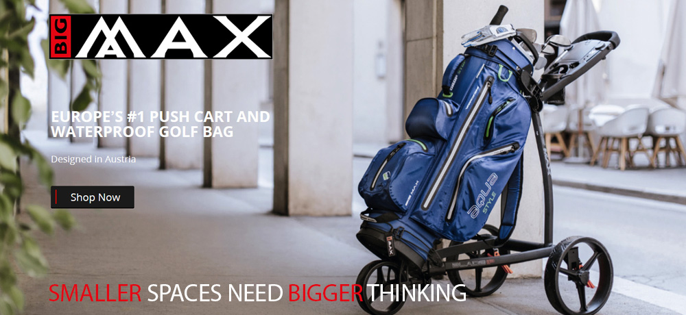 Big Max Golf Bags Trolleys