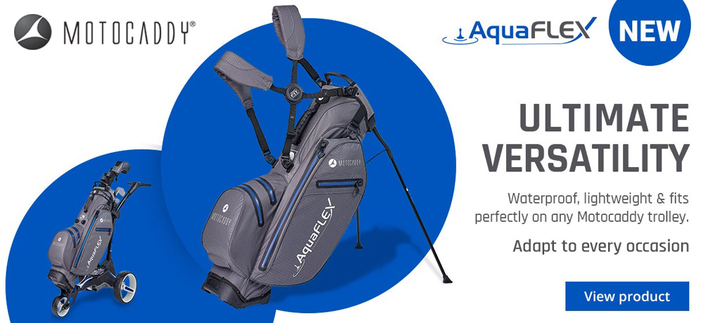 Motocaddy Aquaflex Hybrid Stand Bag