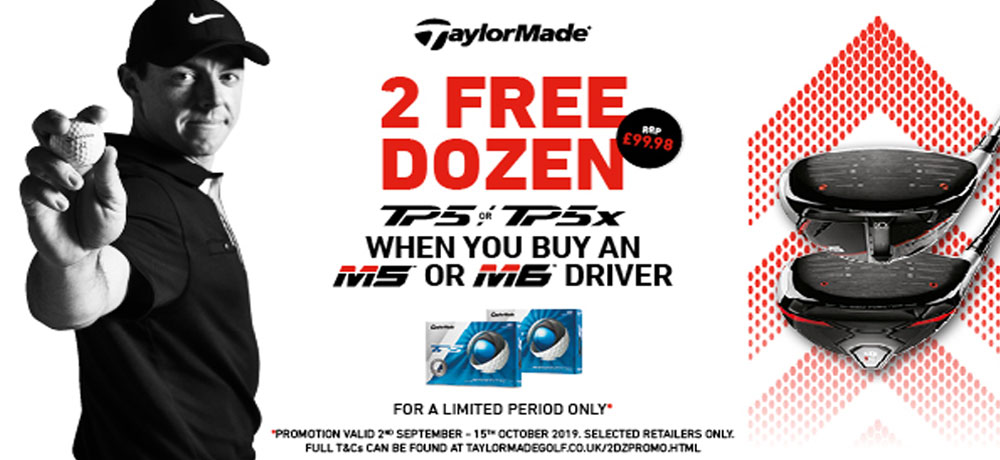 2019 Taylormade M5 M6 Driver Promotion