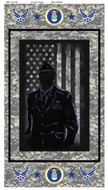United States Air Force Cotton Panel-100% Cotton-Sold by the Panel