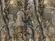 Realtree Cotton Fabric with Hidden Animals Pattern-Sold by the Yard