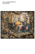 Realtree Cotton Daybreak Edge Fabric Panel-Sold by the Panel
