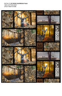 Realtree Cotton Fabric with Daybreak Edge Patch allover design-Sold by the Yard