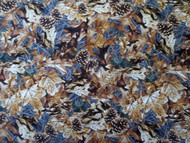 Realtree Cotton Fabric with Autumn Foilage design-Sold by the Yard