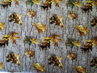 Realtree Cotton Fabric with Fallin Leaves Design-Sold by the Yard