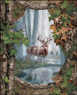 Realtree Cotton Quilting Panel-Sold by the Panel