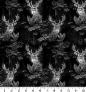 Realtree Camouflage Cotton Fabric with Etched Woods Allover Design--Sold by the Yard