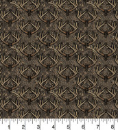Realtree Camouflage Cotton Fabric with Antlers--Sold by the Yard