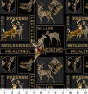 Realtree Camouflage Cotton Fabric with Heritage Box A/O--Sold by the Yard